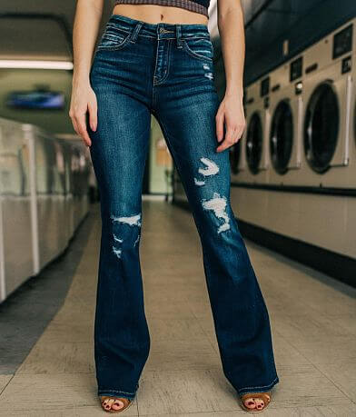 Bridge by GLY Mid-Rise Flare Stretch Jean