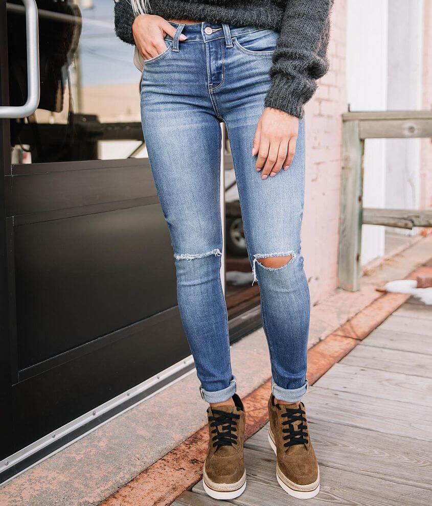 Bridge by GLY Mid-Rise Skinny Stretch Jean front view