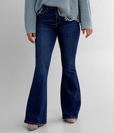 Bridge by GLY Curvy High Rise Flare Stretch Jean