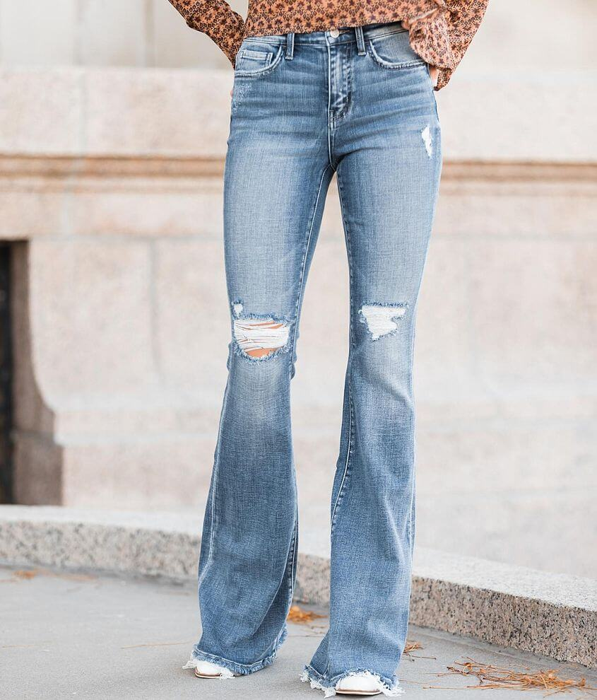 Bridge by GLY High Rise Flare Stretch Jean front view