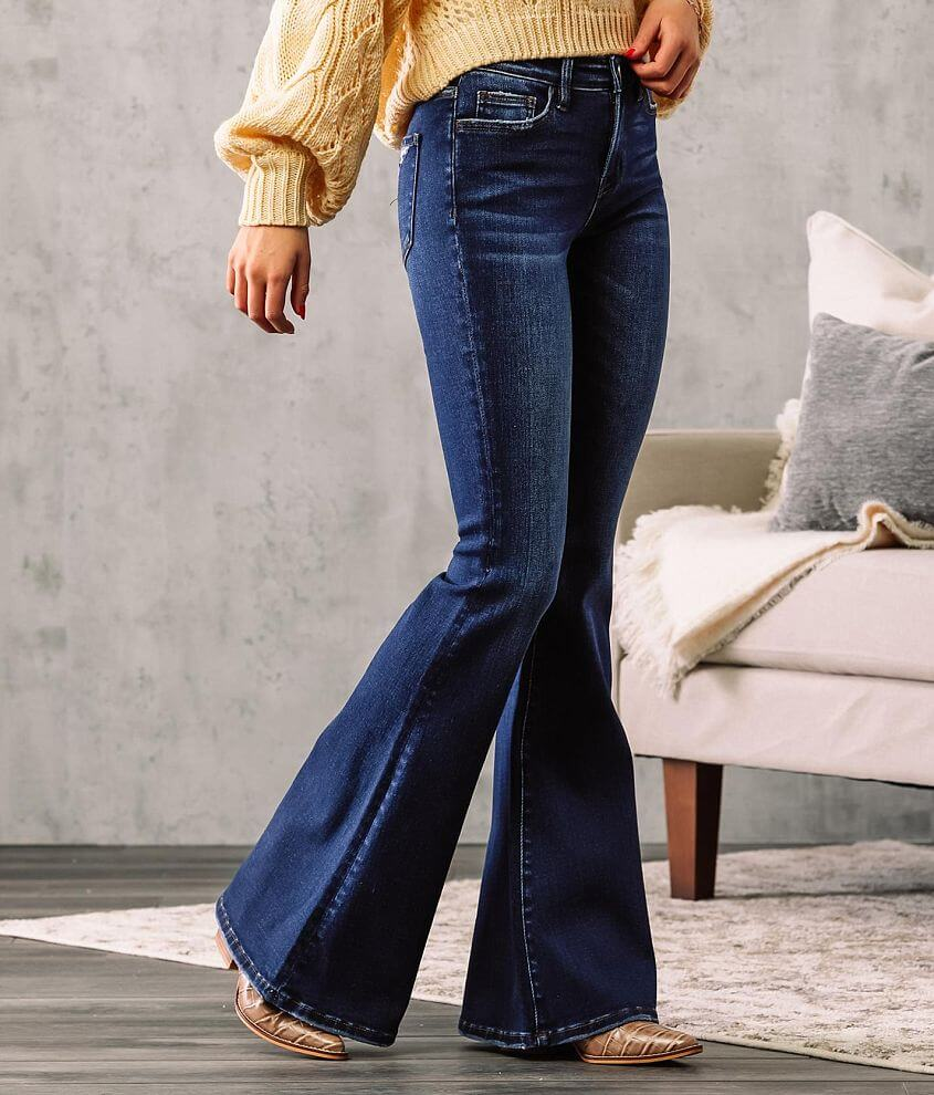 Bridge by GLY Hudson Mid-Rise Super Flare Jean front view