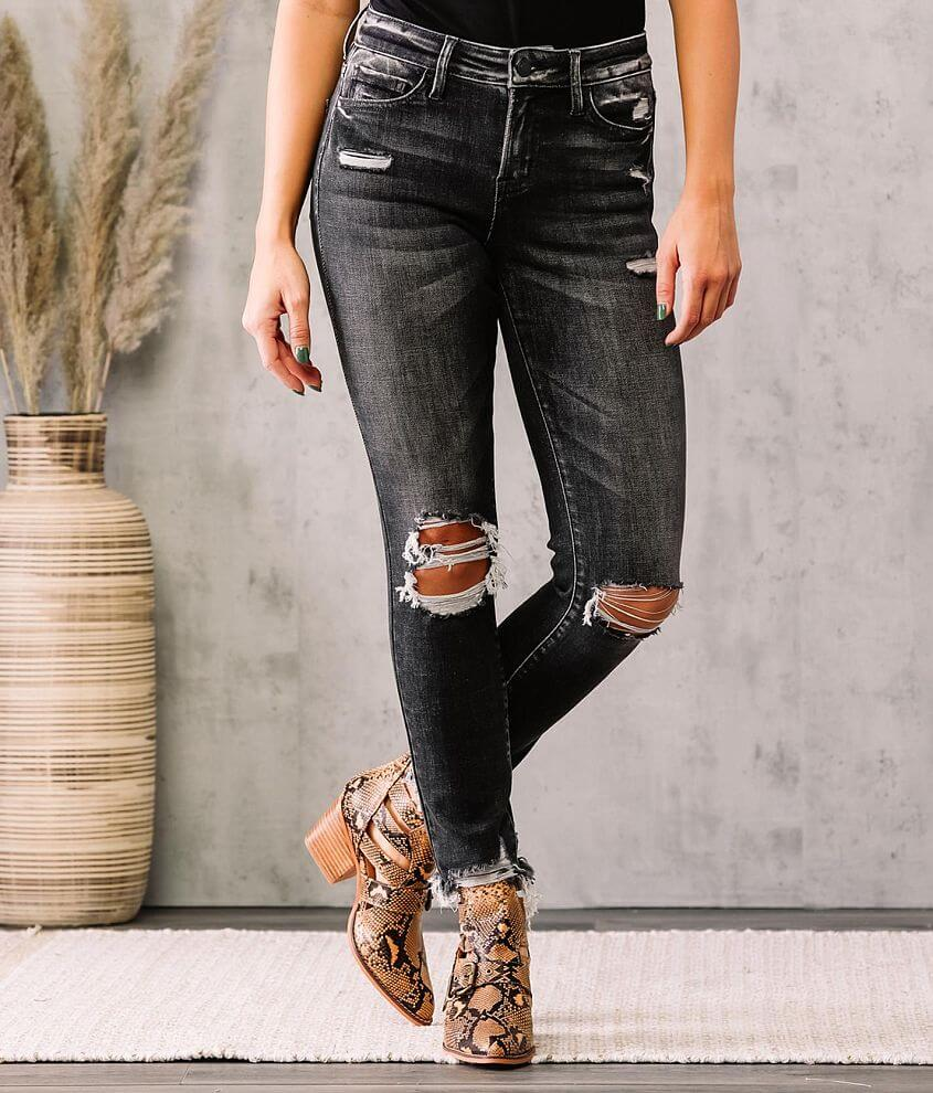 Bridge by GLY Hudson Mid-Rise Ankle Skinny Jean front view