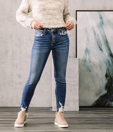 Bridge by GLY Hudson Mid-Rise Ankle Skinny Jean