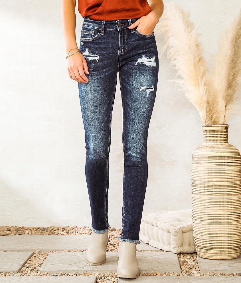 Bridge by GLY Hudson Mid-Rise Skinny Stretch Jean front view