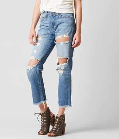 Flying Monkey Mid-Rise Ankle Straight Jean