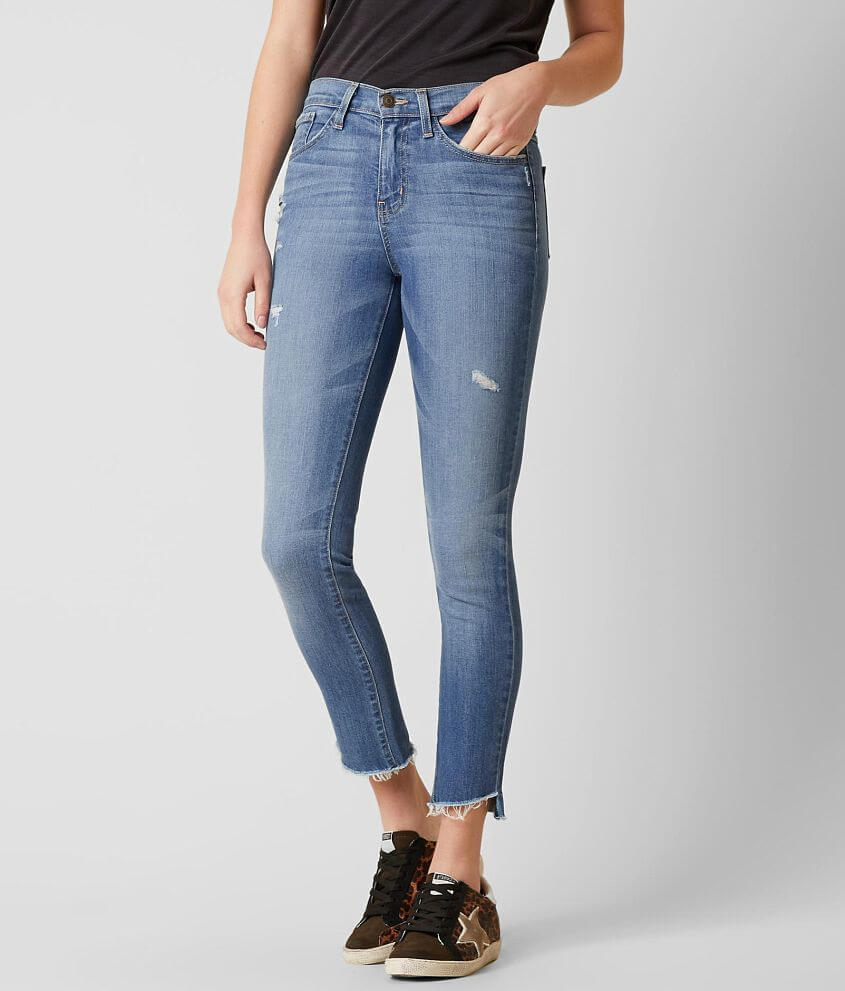 Flying Monkey High Rise Straight Stretch Jean front view