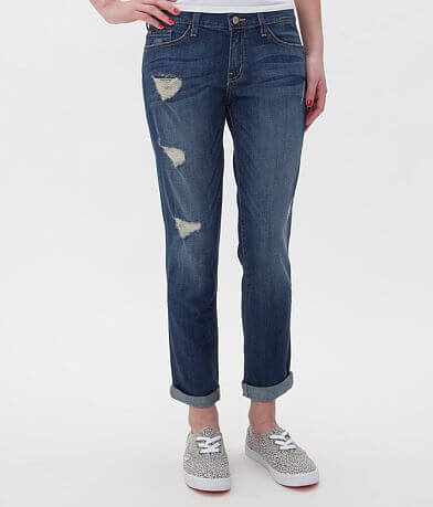 Flying Monkey Low Rise Boyfriend Cropped Jean