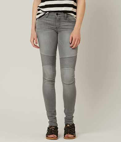 Flying Monkey Low Rise Moto Skinny Stretch Jean