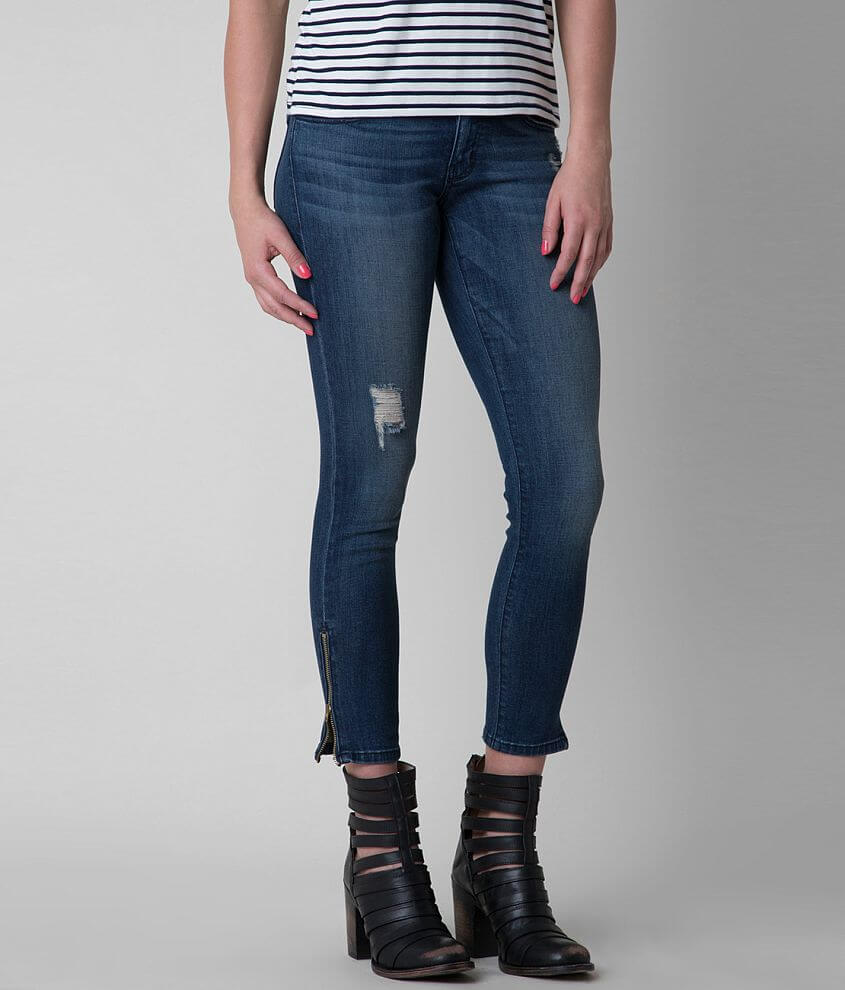 Flying Monkey Ankle Skinny Stretch Jean front view