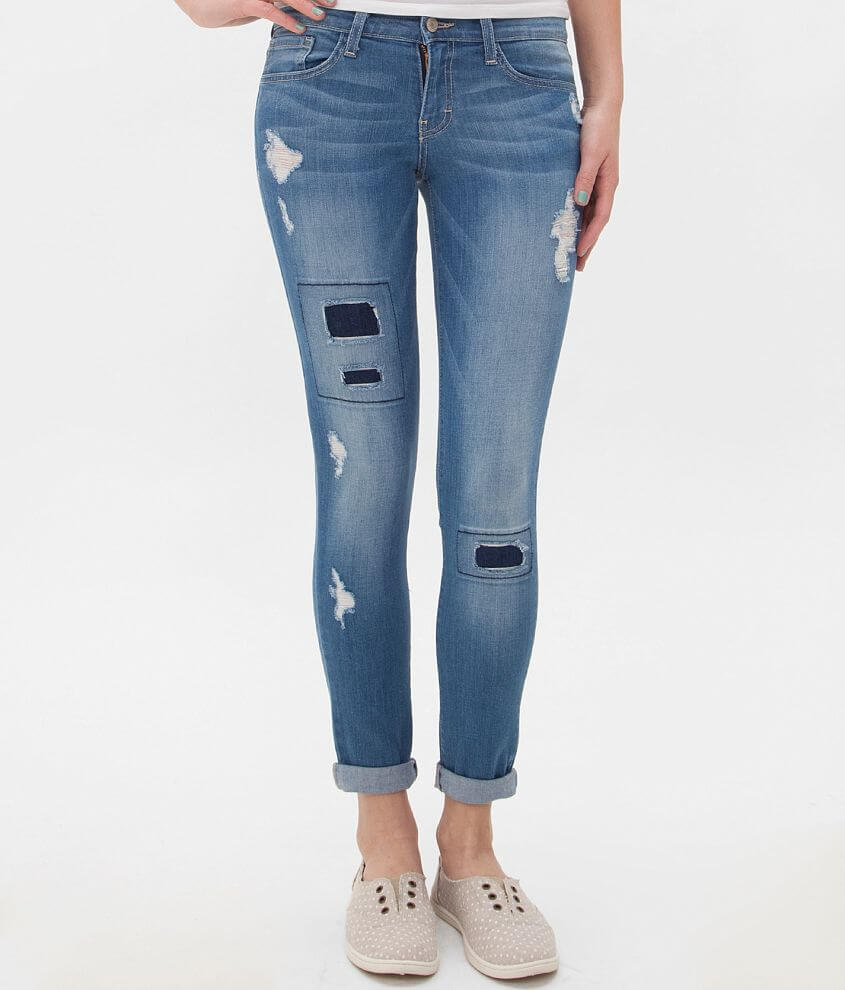 Flying Monkey Skinny Stretch Cropped Jean front view