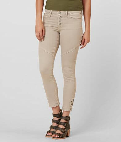 Flying Monkey Mid-Rise Ankle Skinny Cropped Jean