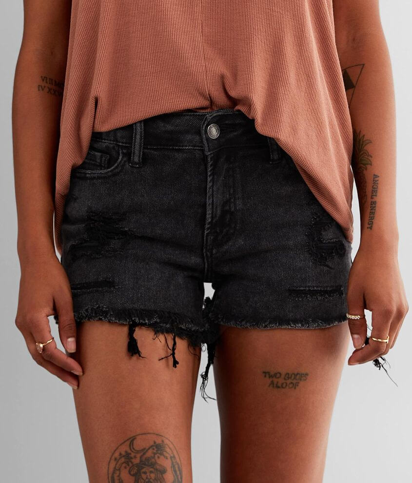 VERVET Holly Mid-Rise Stretch Short front view