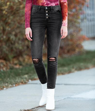 VERVET Haylie High Rise Ankle Skinny Jean