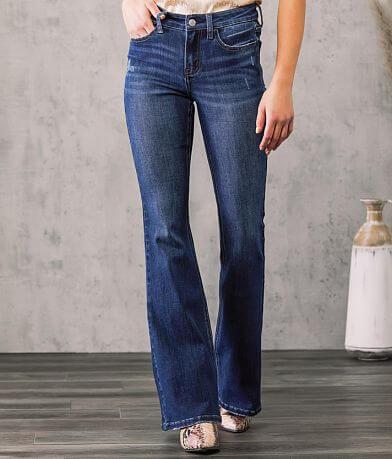 VERVET Alison Mid-Rise Flare Stretch Jean
