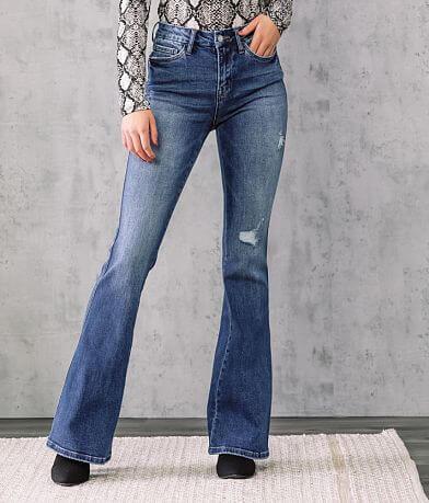VERVET Bella High Rise Flare Stretch Jean