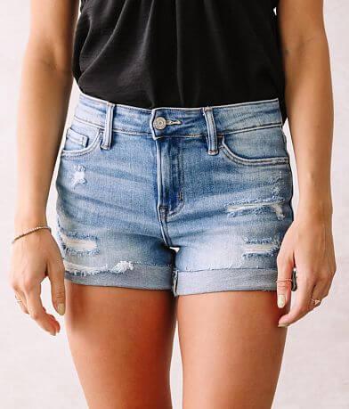 VERVET Holly Mid-Rise Stretch Short