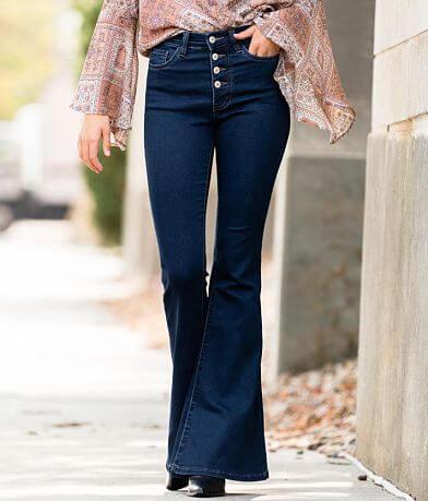 VERVET Bella High Rise Super Flare Stretch Jean