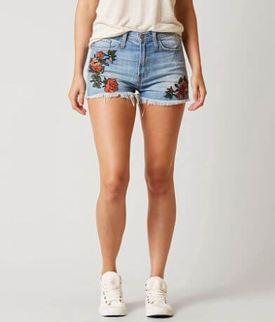Flying Monkey High Rise Floral Short
