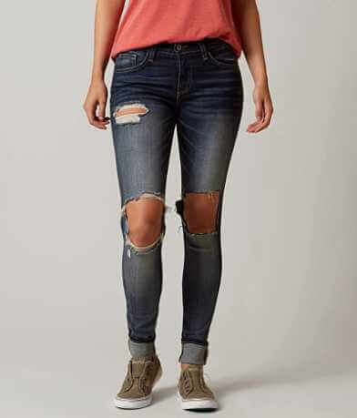 Flying Monkey Mid-Rise Skinny Jean