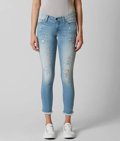 64faf39aeff Flying Monkey Low Rise Ankle Skinny Stretch Jean