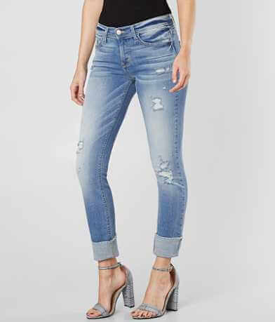 Flying Monkey Mid-Rise Ankle Straight Stretch Jean