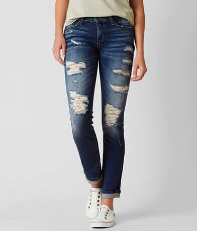 Flying Monkey Low Rise Straight Stretch Jean