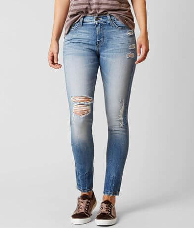 Flying Monkey Mid-Rise Ankle Skinny Stretch Jean