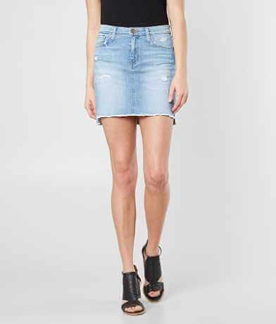 Flying Monkey Denim Mini Skirt