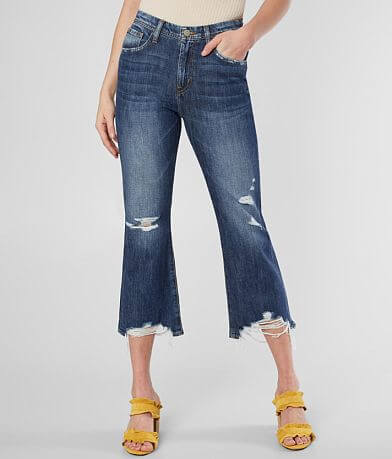 Flying Monkey High Rise Cropped Flare Jean
