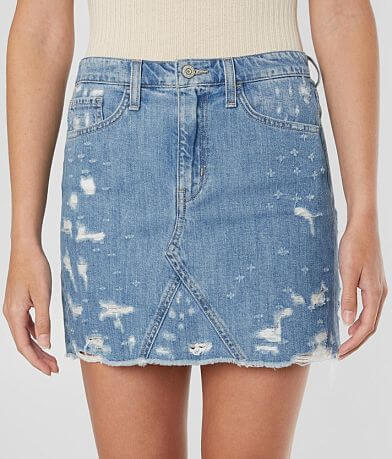 Flying Monkey High Rise Denim Skirt