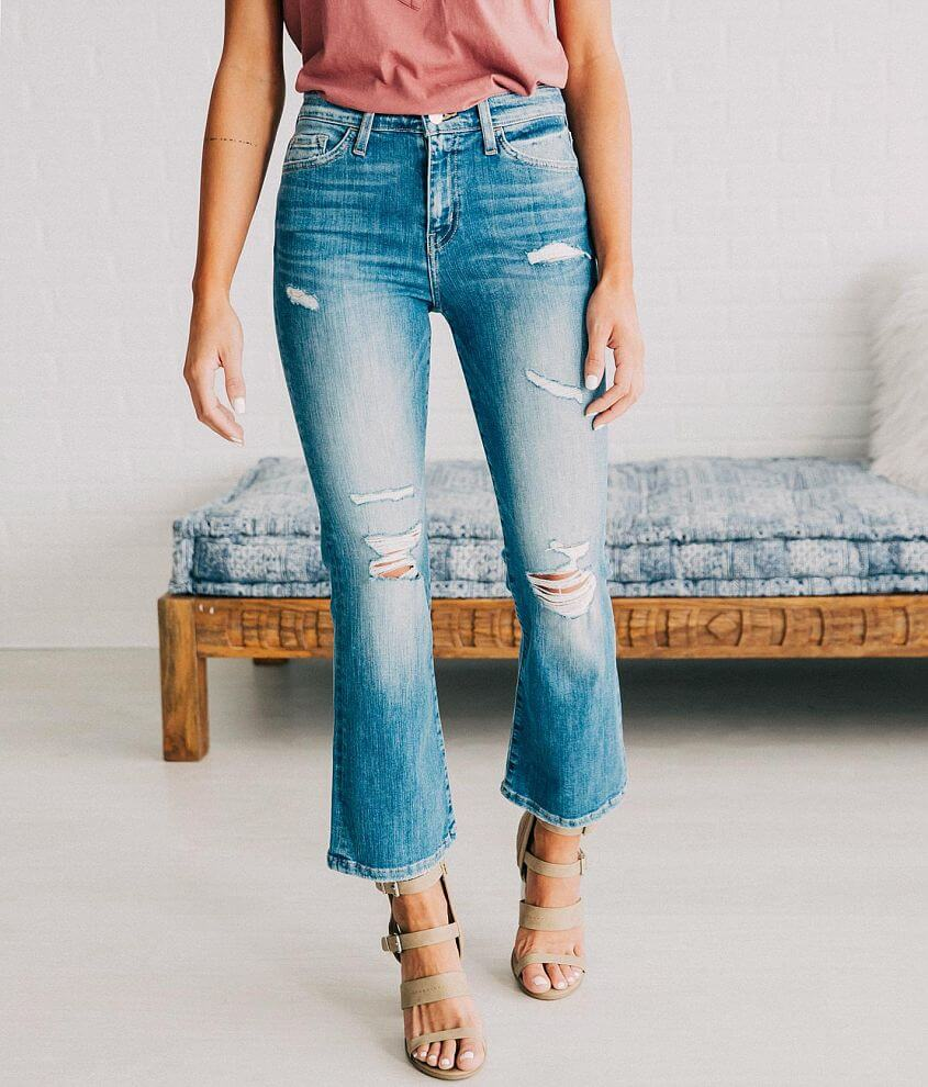 Flying Monkey High Rise Stretch Cropped Jean front view
