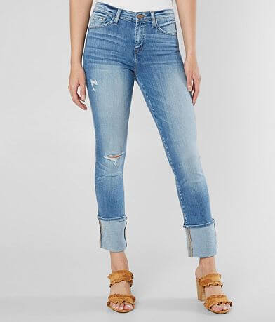 Flying Monkey Mid-Rise Straight Stretch Jean