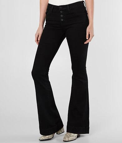 Flying Monkey Mid-Rise Flare Stretch Jean