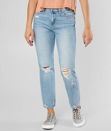 Flying Monkey High Rise Ankle Straight Jean