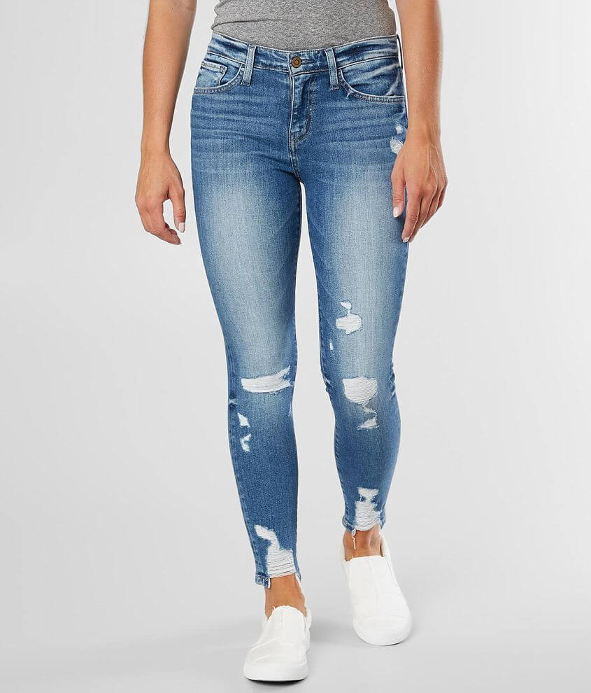Flying Monkey Mid-Rise Ankle Skinny Stretch Jean front view