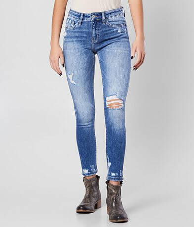 Flying Monkey Mid-Rise Ankle Skinny Jean