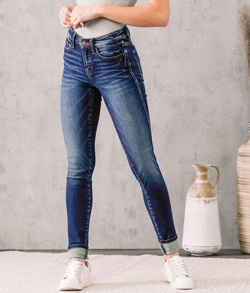 Flying Monkey Mid-Rise Skinny Stretch Jean front view