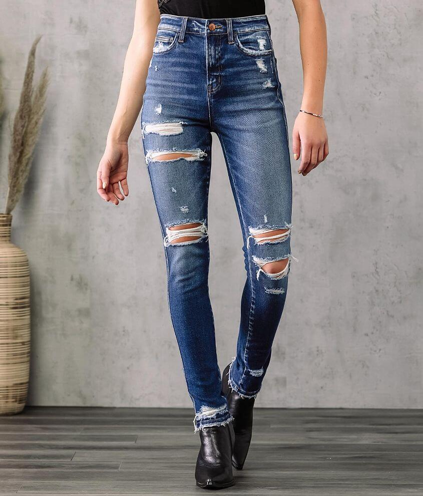 Flying Monkey Ultra High Rise Skinny Jean front view