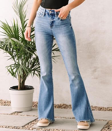 Flying Monkey High Rise Super Flare Stretch Jean