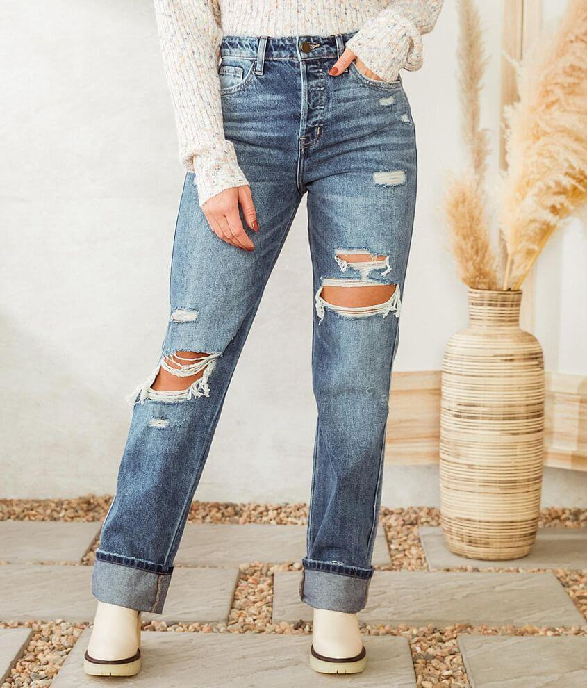 Flying Monkey Ultra High Rise Straight Jean front view