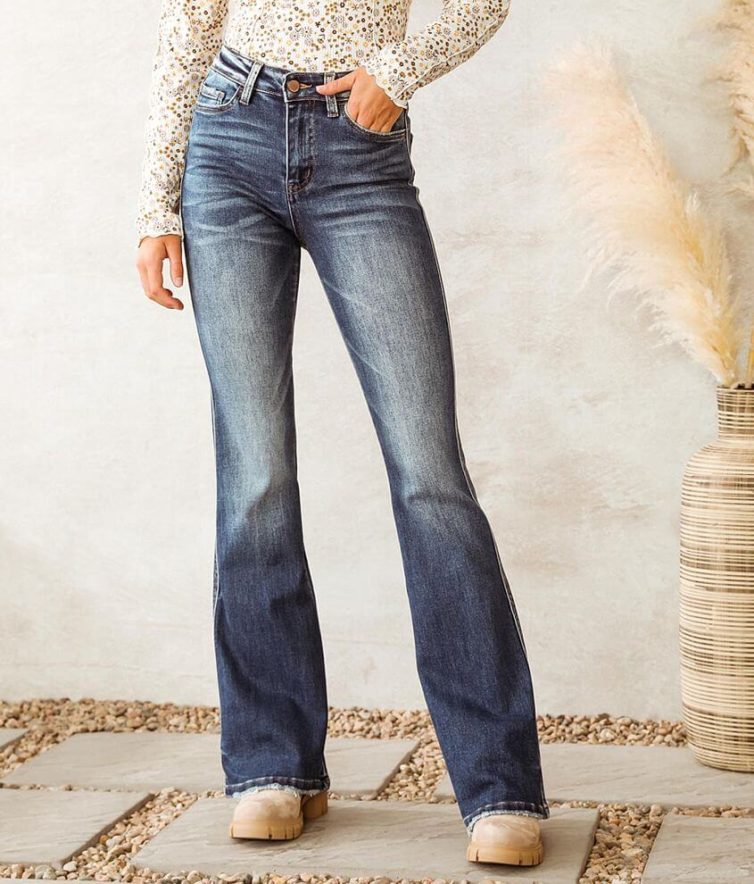 Flying Monkey High Rise Boot Stretch Jean front view