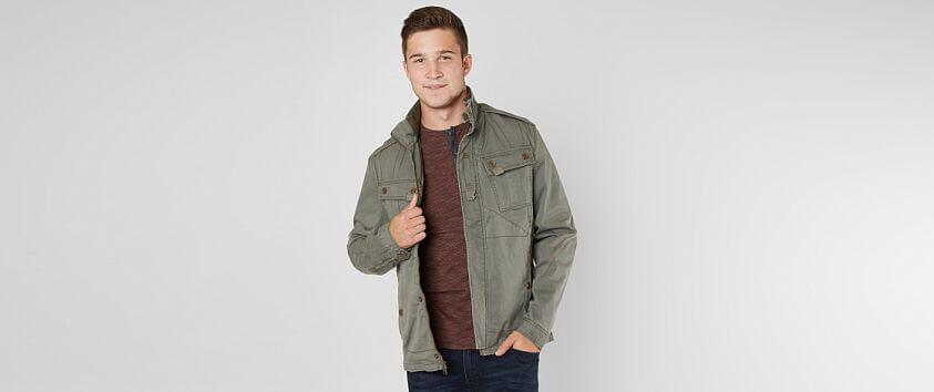 Outpost Makers Pieced Jacket front view