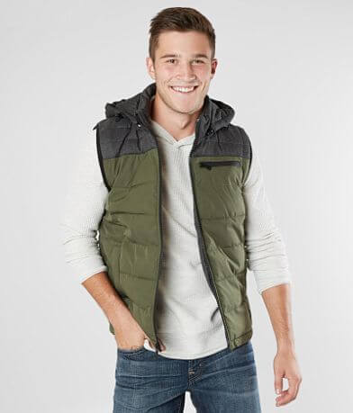 PX Hooded Puffer Vest