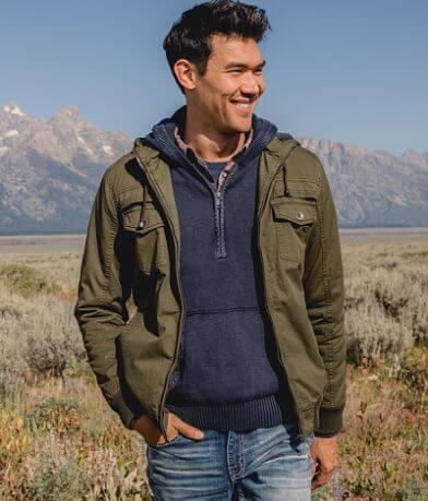 BKE Cotton Hooded Jacket