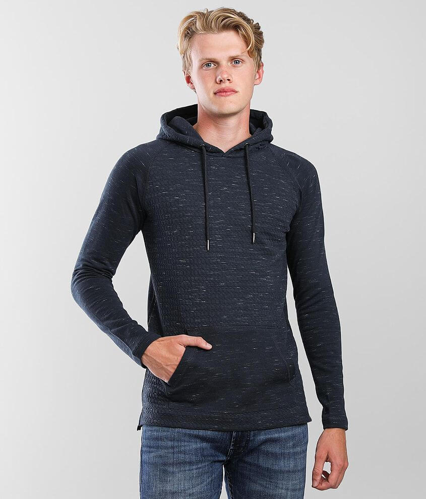 BKE Quilted Hoodie front view