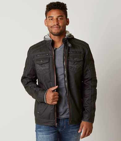 Buckle Black Hurricane 2-Fer Coat