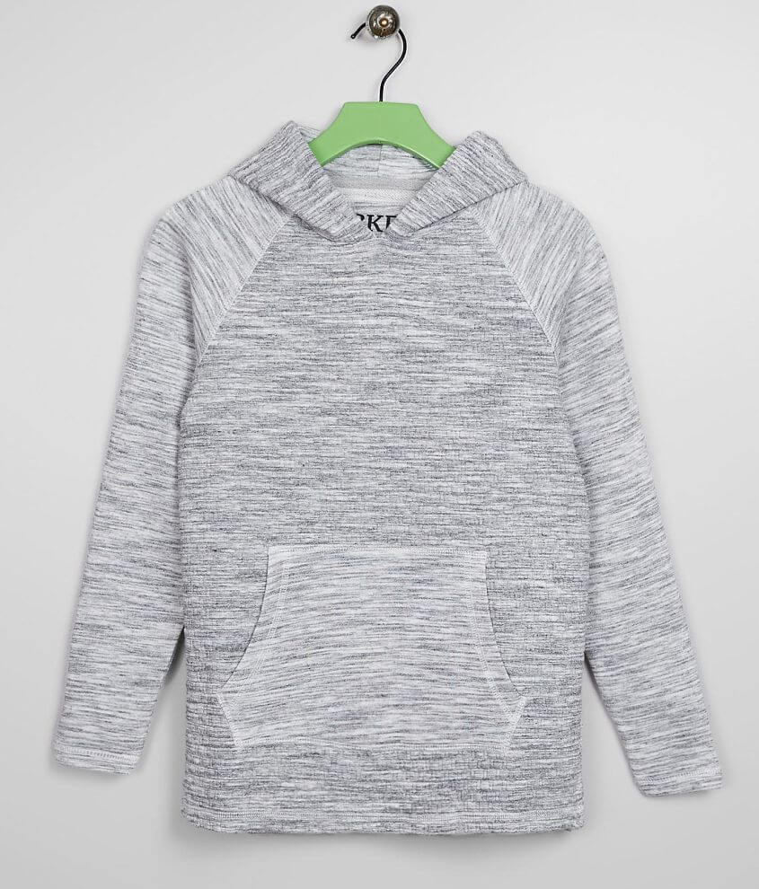 Boys - BKE Quilted Hoodie front view