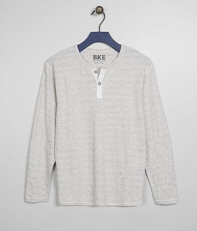 Boys - BKE Tonal Embroidered Henley