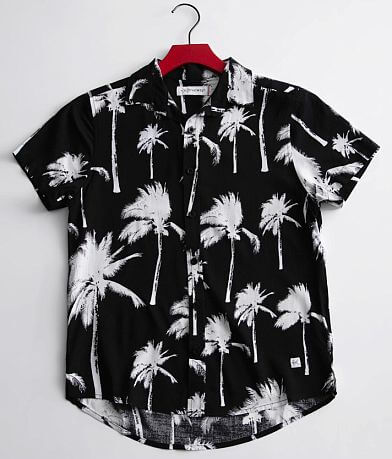 Boys - Departwest Palm Tree Shirt