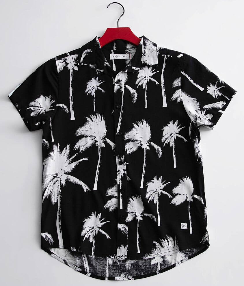 Boys - Departwest Palm Tree Shirt front view
